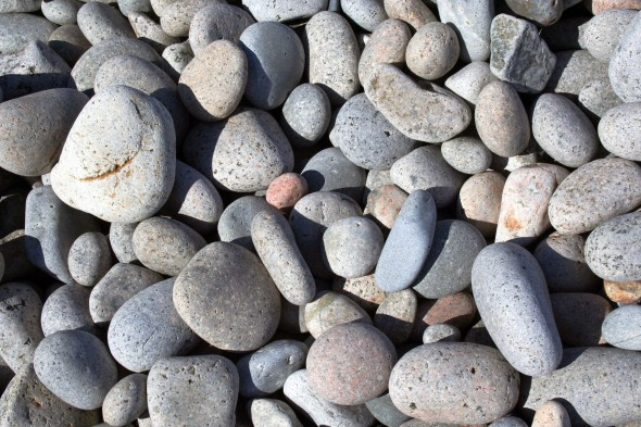 Background smooth rocks